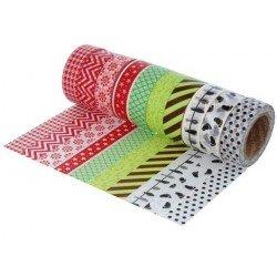 Cinta Adhesiva Washi Tape,...