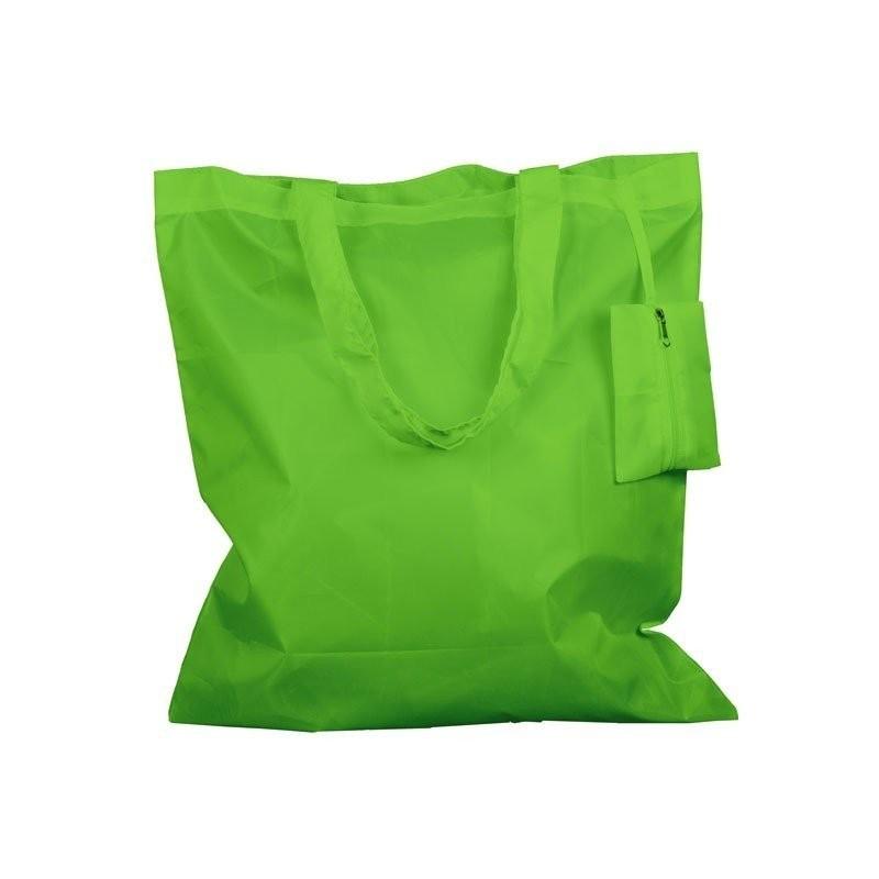 8176b0c5a Bolsa de poliéster personalizable cosida plegable